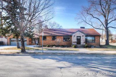 Grand Rapids Single Family Home For Sale: 1528 Michigan Street NE