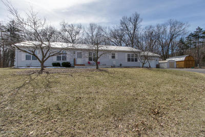Middleville MI Single Family Home For Sale: $219,900