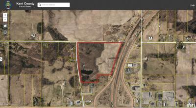 Clinton County, Gratiot County, Isabella County, Kent County, Mecosta County, Montcalm County, Muskegon County, Newaygo County, Oceana County, Ottawa County, Ionia County, Ingham County, Eaton County, Barry County, Allegan County Residential Lots & Land For Sale: 14350 Edgerton Avenue NE