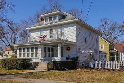 Otsego Single Family Home For Sale: 224 Kalamazoo Street