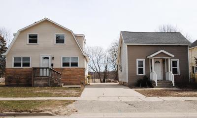 Lake Odessa MI Single Family Home For Sale: $169,000