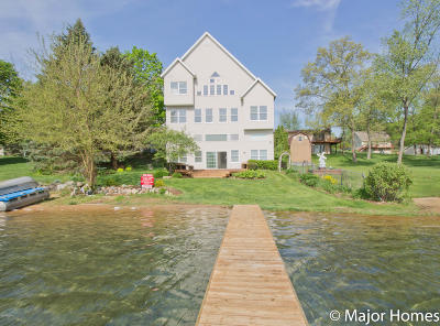 Middleville Single Family Home For Sale: 11858 Paradise Court
