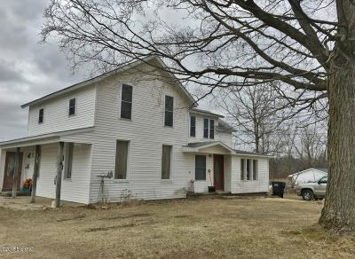 Big Rapids Multi Family Home For Sale: 209 Monroe Avenue