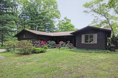 Saugatuck Single Family Home For Sale: 3121 Indian Point Road