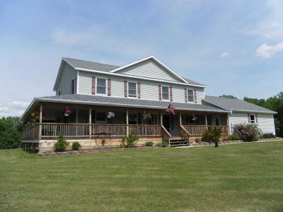 Marion Single Family Home For Sale: 2862 19 Mile