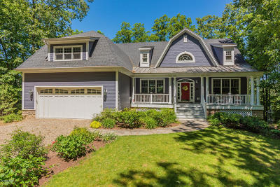 New Buffalo Single Family Home For Sale: 2 Riverview Lane
