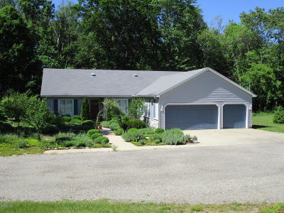 Hamilton Single Family Home For Sale: 5893 Old Allegan Road