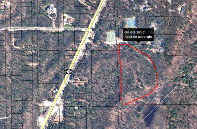 Pentwater MI Residential Lots & Land For Sale: $59,900
