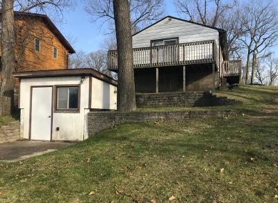Delton Single Family Home For Sale: 7568 S Crooked Lake Drive