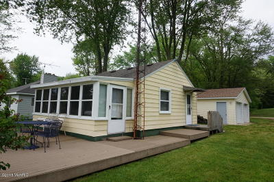 Allegan Single Family Home For Sale: 36 E Duck Lake Drive