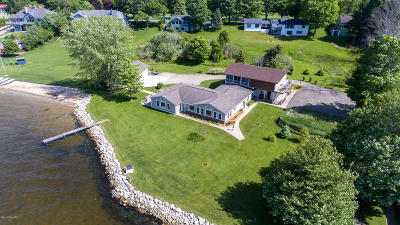 Muskegon County, Oceana County, Ottawa County Single Family Home For Sale: 5710 N Scenic Drive