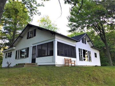 Benzie County, Charlevoix County, Clare County, Emmet County, Grand Traverse County, Kalkaska County, Lake County, Leelanau County, Manistee County, Mason County, Missaukee County, Osceola County, Roscommon County, Wexford County Single Family Home For Sale: 7237 W Nurnberg Road