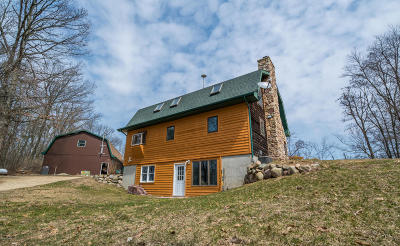 Delton Single Family Home For Sale: 6845 Lammers Road