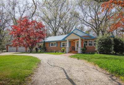 St. Joseph County Single Family Home For Sale: 68435 Hill Street