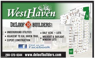 Kalamazoo County Residential Lots & Land For Sale: 3470 Westhaven Trail #44