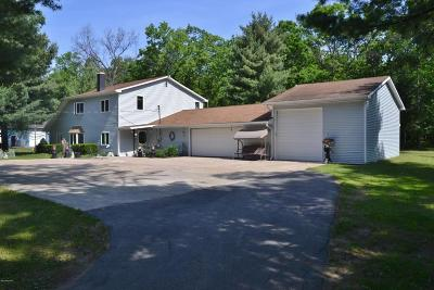 Morley Single Family Home For Sale: 21940 Jefferson Road