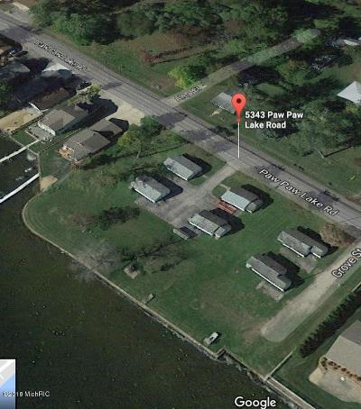 Berrien County Residential Lots & Land For Sale: 5343 Paw Paw Lake Road