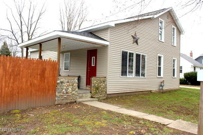 Homer MI Single Family Home Active Contingent: $99,900