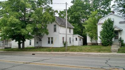 Big Rapids Single Family Home For Sale: 513 S State St Street