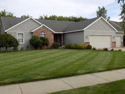 Ottawa County, Kent County Single Family Home For Sale: 1642 Bristol Ridge Drive NW