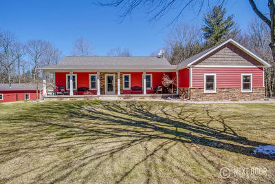 Ottawa County, Kent County Single Family Home For Sale: 17017 Pierce Street