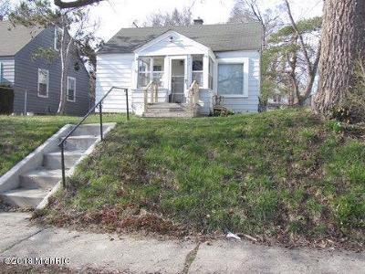 Grand Rapids Single Family Home For Sale: 933 Merritt Street SE