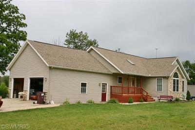 Delton Single Family Home For Sale: 8398 W Hayward Road