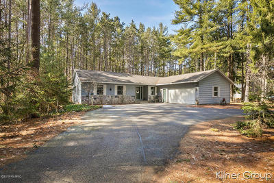 Comstock Park Single Family Home For Sale: 1483 11 Mile Road NE