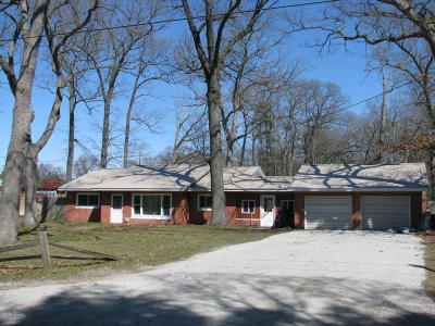 Muskegon Single Family Home For Sale: 1990 Pappas Road