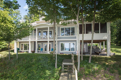 South Haven Single Family Home For Sale: 20055 Lake Shore Drive