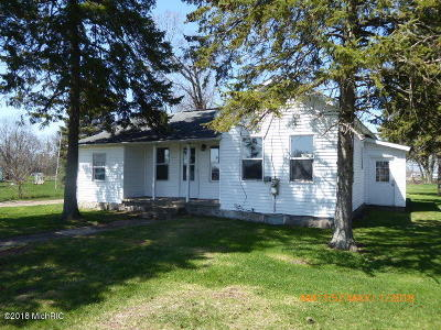 White Pigeon Single Family Home For Sale: 400 S Elkhart Street