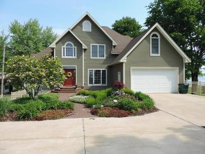 Newaygo County Single Family Home For Sale: 6893 Wilcox Avenue