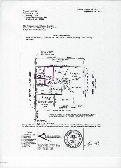 Rockford Residential Lots & Land For Sale: 6441 Bailey Mack Way, Lot #7