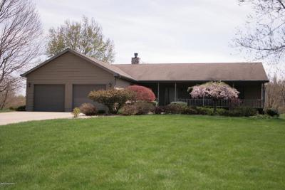 Berrien Springs Single Family Home For Sale: 9235 Garr Road