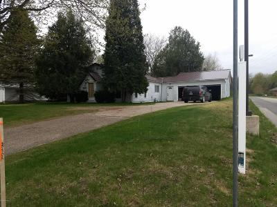 Reed City MI Single Family Home For Sale: $90,000