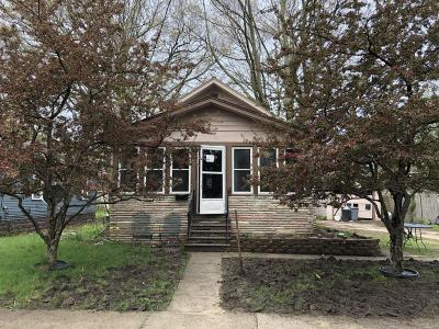 Muskegon Heights Single Family Home For Sale: 3321 6th Street