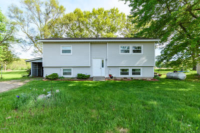 Plainwell Single Family Home For Sale: 603 1/2 Marsh Road