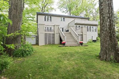 Harbert, Lakeside, New Buffalo, Sawyer, Three Oaks, Union Pier Single Family Home For Sale: 15224 Lakeshore Road