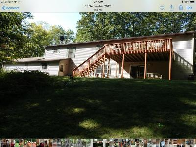 Leroy Single Family Home For Sale: 15872 Deer Run