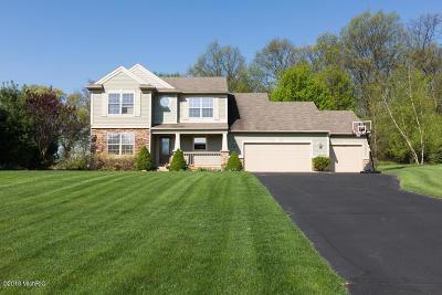 Rockford Single Family Home For Sale: 5844 Fieldstone Ridge Ridge NE
