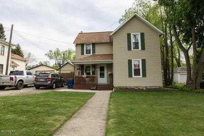 Hillsdale MI Single Family Home For Sale: $104,900