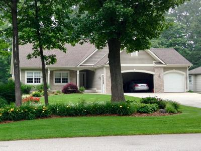 Grand Haven, Spring Lake Single Family Home For Sale: 15255 S Scenic Court