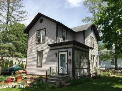 Hillsdale MI Single Family Home For Sale: $89,300