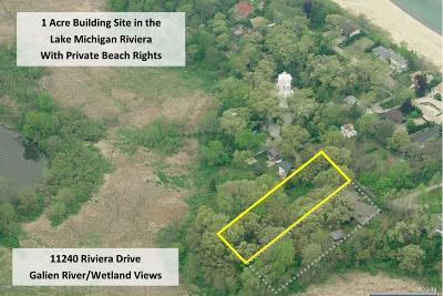 Harbert, Lakeside, New Buffalo, Sawyer, Three Oaks, Union Pier Residential Lots & Land For Sale: 11240 Riviera Drive