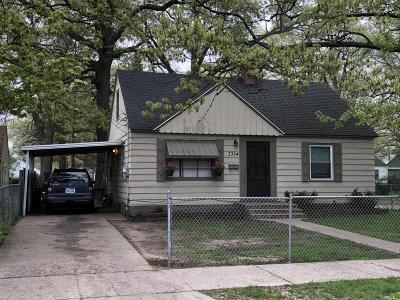 Muskegon Heights Single Family Home For Sale: 3354 6th Street