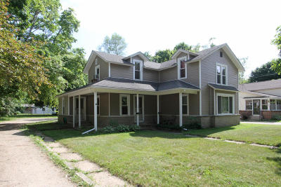 Otsego Multi Family Home For Sale: 309-309.5 W Morrell Street