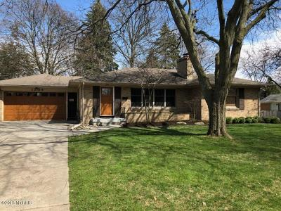 East Grand Rapids Single Family Home For Sale: 1306 Breton Road SE