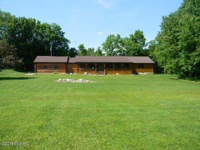 Branch County, Hillsdale County Single Family Home For Sale: 5155 Thompson Road