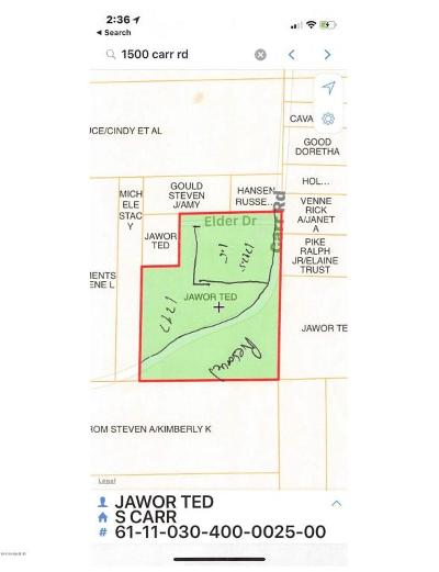 Muskegon County, Newaygo County, Oceana County, Ottawa County Residential Lots & Land For Sale: 1797.5 Carr Road