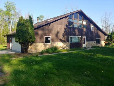 Gladwin County Single Family Home For Sale: 1100 M 18